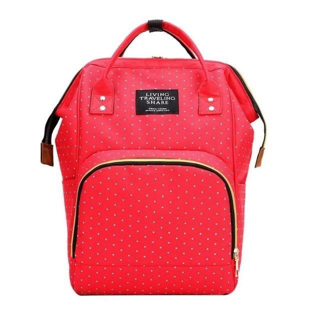 Diaper Bag Backpack Large Capacity Travel Nursing Multifunctional Bag Baby Care