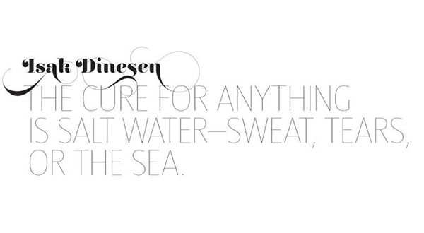 #lalaloving salt water cures.  #quotes