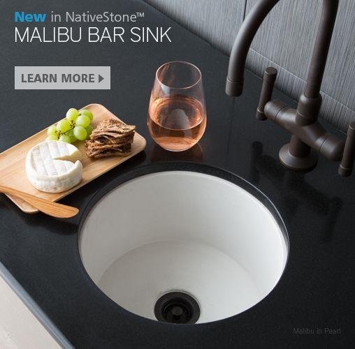 Native Trails Malibu Bar Sink   Concrete Bar Sink Or Prep Sink