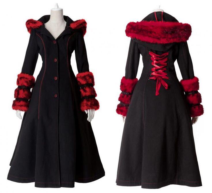 Red Riding Hood Gothic Lolita Coat | Pixieknix
