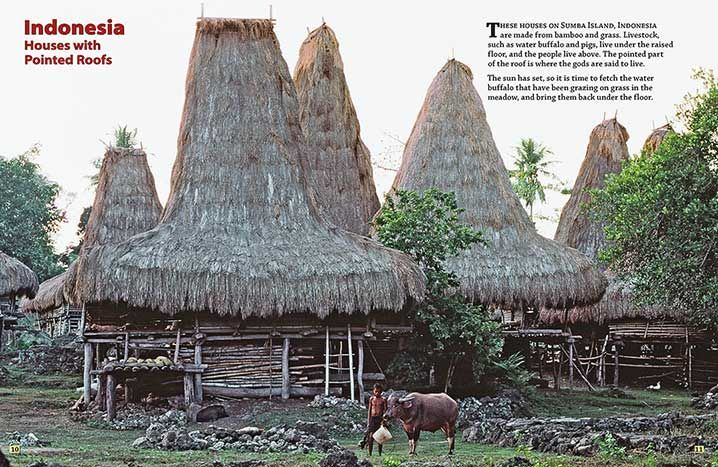 Ndonesia Houses With Pointed Roofs Houses Pinterest