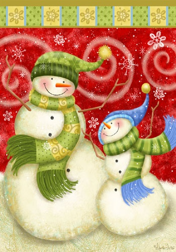 Holiday Snowmen Christmas*