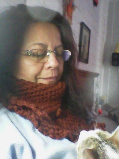 Cuello de lana...... Cafecito!