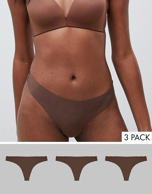 74d92e7ab3a6 DESIGN 3 pack seam free thong in 2019 | //finishing touches ...