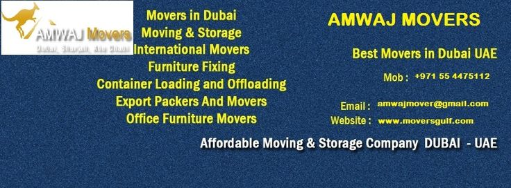 AMWAJ Movers a strong home movers Dubai saves your time. You have things to be done in the midst of the moving, in actuality. That suggests you moreover need to use your time wisely