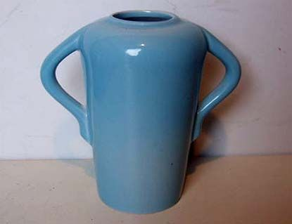 Vitrian Blue Vase (1960) by Canadian Potteries - Unknown
