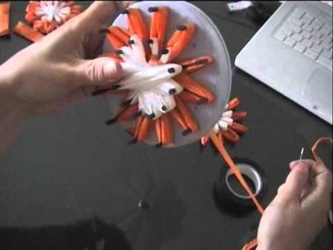 Aus Plastiktüten einfach Plastikblumen zaubern