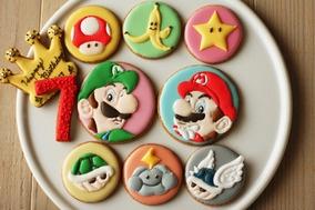マリオとルイージのアイシングクッキー レシピブログ