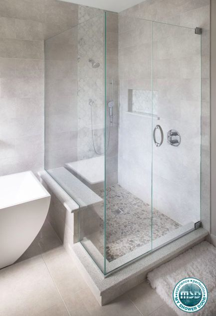 Love this luxurious shower idea this is a beautiful - What do i need to clean my bathroom ...