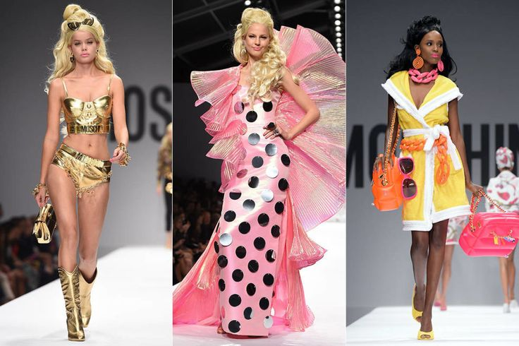 Meet The Barbies of Moschino 2015