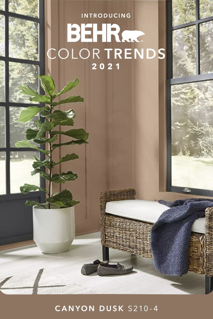 canyon dusk s210 4 behr color trends 2021 palette in on paint colors for 2021 living room id=65596