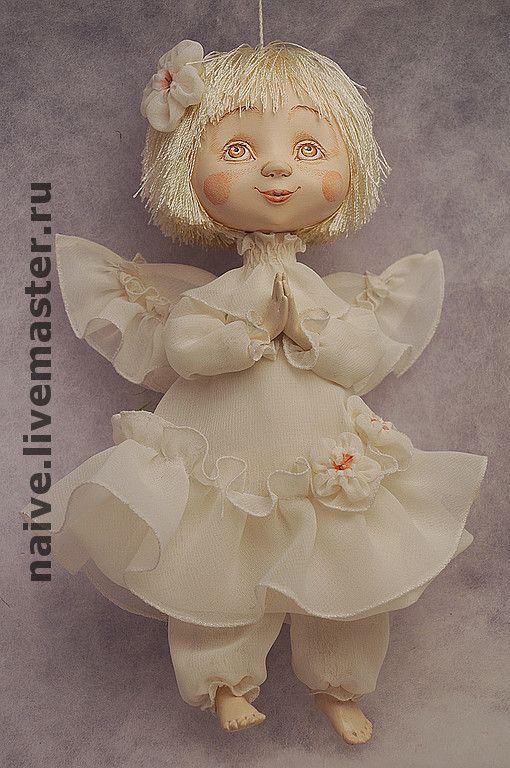 """Купить Кукла """"Ангел Лапочка"""" - оригинальный подарок, ручная работа, авторская работа, сувенир"""