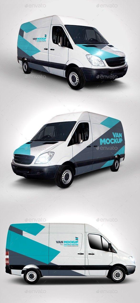 40 best van mockup psd for delivery vans branding check more at https