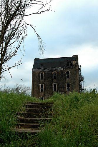 Abandoned school near Jasper, Texas.