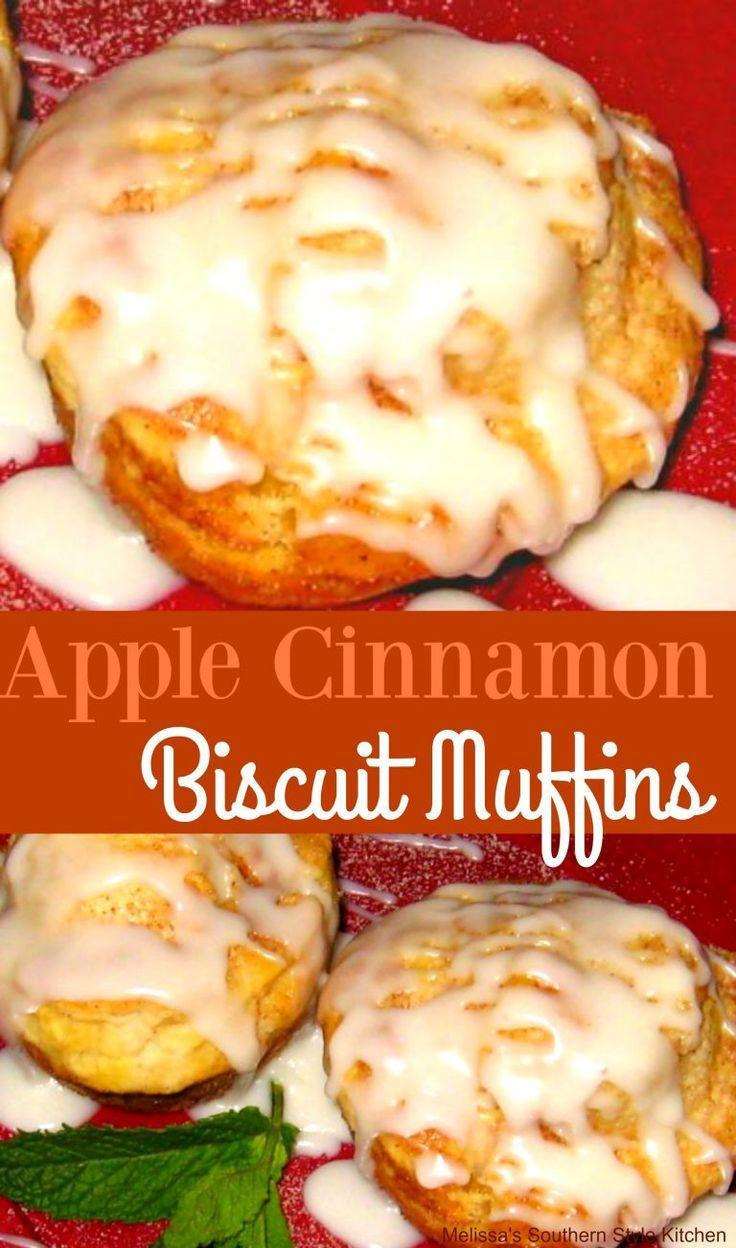 Apple Cinnamon Biscuit Muffins