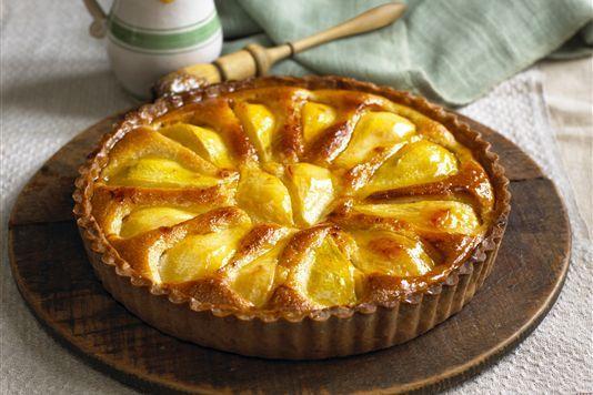Normandy pear tart recipe | recipies | Pinterest