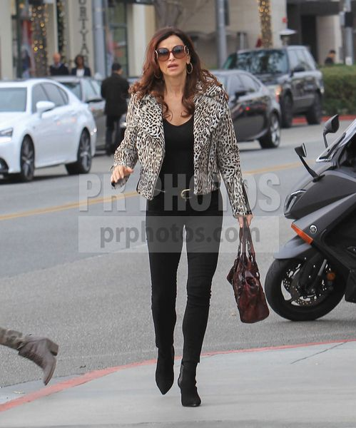 Sofia Milos Sighted Shopping in Beverly Hills on January 16 2018