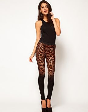 leopard ombre print. loving these!