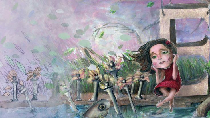 """Imaxes do novo libro de Miguel Ángel Alonso Diz e Luz Beloso. Titulado: """"O soño de Esther"""". Editado por Nova Galicia Edicións Música: Cinta Adhesiva"""