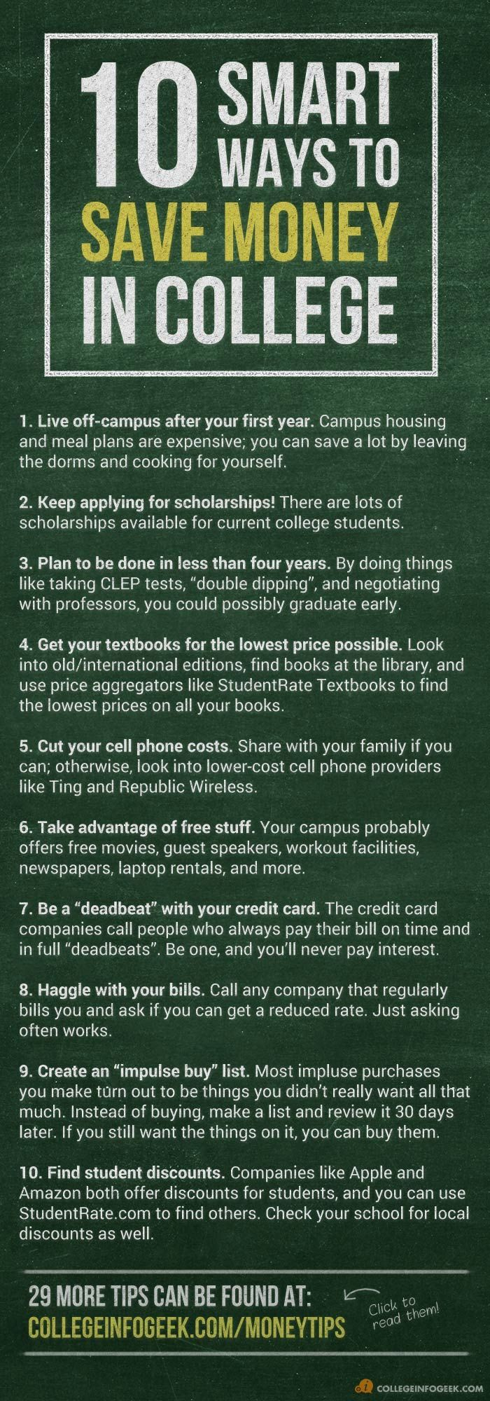5 Ways How to Save and Make Money as a College Student