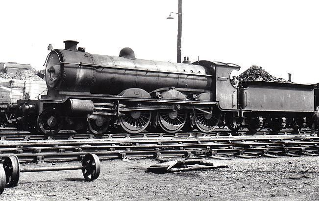 14643. A Pickersgill 60 Class 'Greyback' 4-6-0 of LMS, built in 1926. This engine was a development of the Class 60 of the Caledonian Railway, designed by William Pickersgill. The LMS built another 20 of the class between 1925-1926 under the auspices of George Hughes who was the LMS Chief Mechanical Engineer. It was withdrawn in 1948 at Motherwell and was scrapped in the same year without the BR no being added.