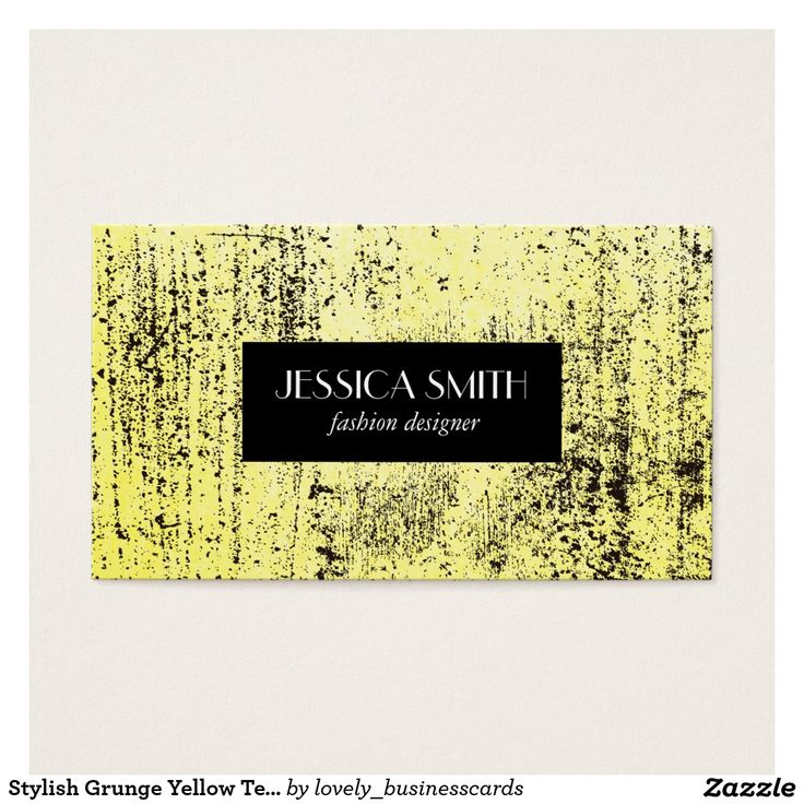 Stylish Grunge Yellow Texture Business Card #stylishcorporate #freelanceartist #stylish #consultant #eventplanner #fashiondesigner #grunge #yellow #stylishgrunge #vibrant #rustic #fashionindustry #fashionmodel #elegant #fashion #personalstylist #modern #contemporary #professionals #freelancer #salon #hairstylist #artist #boutique #executive #texture #designer #dressmaker #yellowtexture #parchment #bright #eyecatching #bold #brightly #colorful