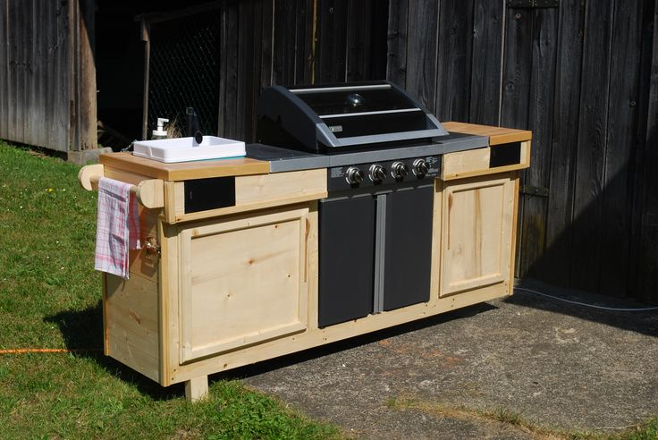 Grillomobil – Meine Outdoorküche Bauanleitung zum selber bauen   – kaosware