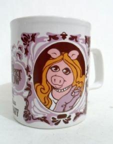 Unused as New Vintage 1978 Jim Henson The Muppet Show Miss Piggy Ironstone Pottery Mug Kilncraft £12.00