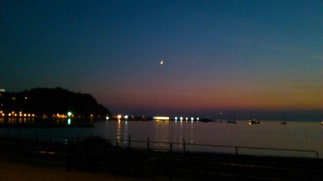 Sunset at baia delle favole