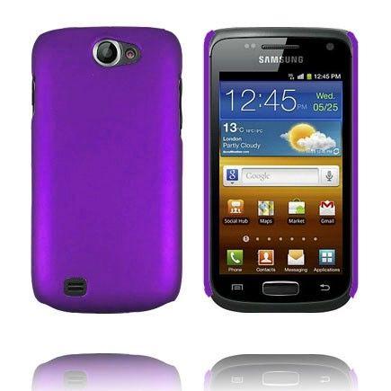 Hard Case (Violetti) Samsung Galaxy W Suojakuori