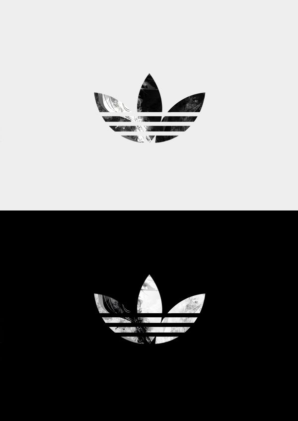 Adidas BLACK AND WHITE