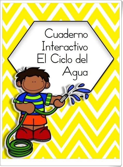 """Cuaderno Interactivo """"El Ciclo del Agua"""""""