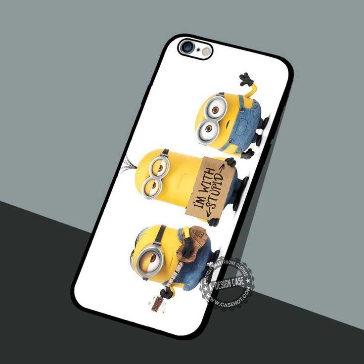 Minions Child Movie - iPhone 7 6 5 SE Cases & Covers #cartoon #Minion #DespicableMe