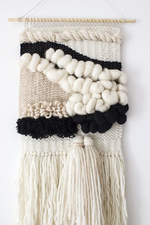 Woven Wall Hanging Woven Tapestry Wool Wall Weaving
