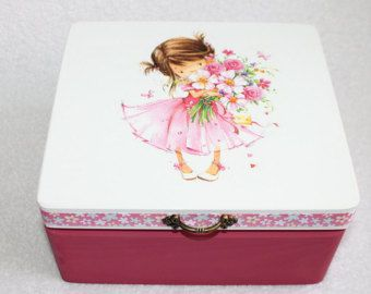 Casket Box for Girl or Boy Wooden Box of Memory by Jurosihandmade