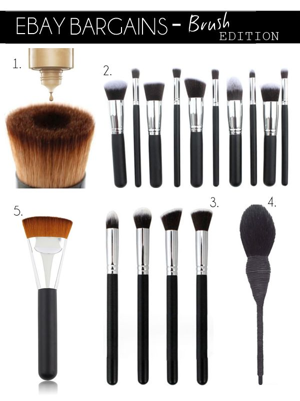eBay Bargains #18 - Brush Edition | MakeupSavvy - Makeup And Beauty Blog