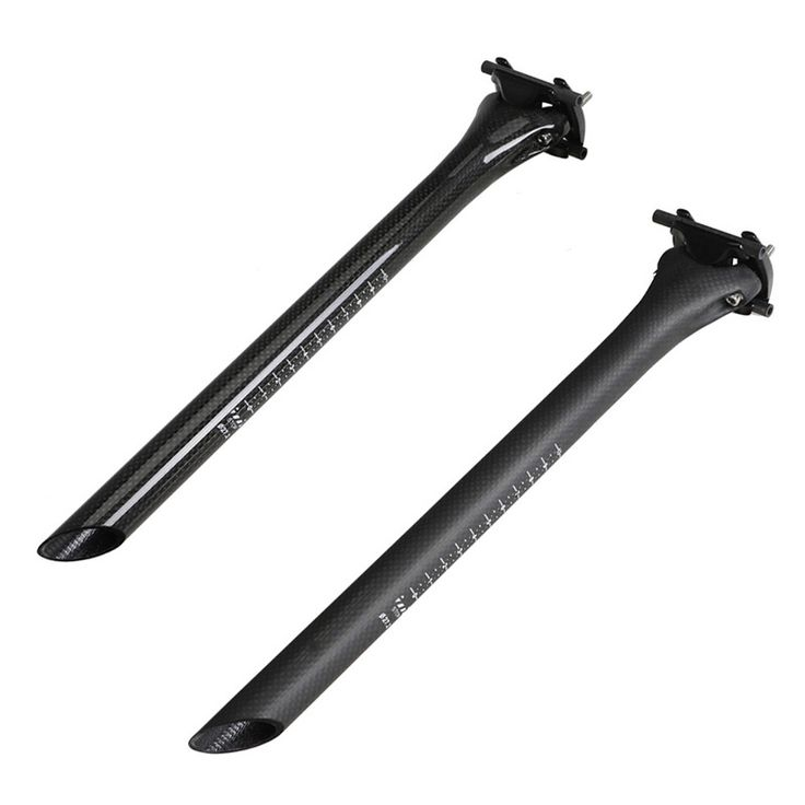 3K/UD Road bike full carbon seatpost Mountain bicycle seat posts MTB parts 27.2/30.8/31.6mm*400mm  cycling parts