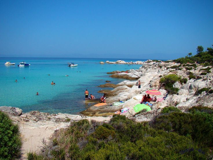 Orange Beach - Sarti, Hakidiki, Greece