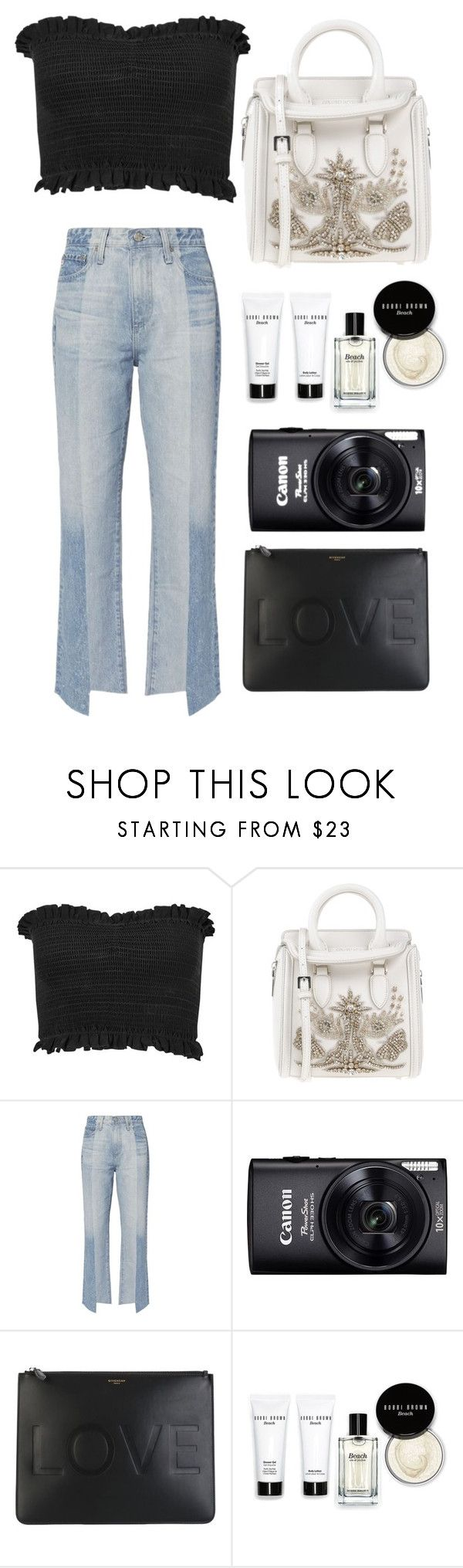 """""""Zedd, Alessia Cara - Stay"""" by petitaprenent on Polyvore featuring Miss Selfridge, Alexander McQueen, AG Adriano Goldschmied, Givenchy and Bobbi Brown Cosmetics"""