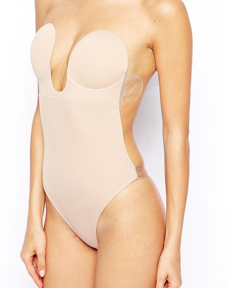 Body sin tirantes ni espalda y con escote en U de Fashion Forms 42,99 €