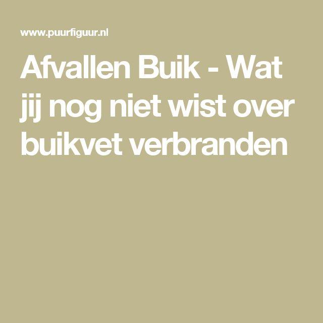 Afvallen Buik - Wat jij nog niet wist over buikvet verbranden