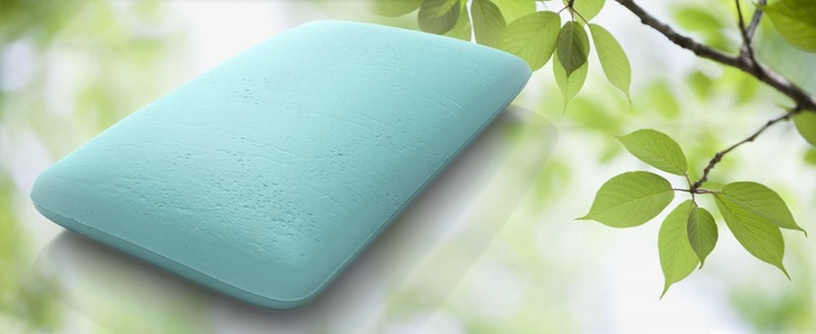 The AloeSense Memory Foam Pillow:  Our AloeSense pillows will guarantee you a great night sleep the natural way. The slow-release fragrance of nature's own Aloe Vera has been micro-encapsulated into the viscoelastic memory foam core. #pillow $99.00