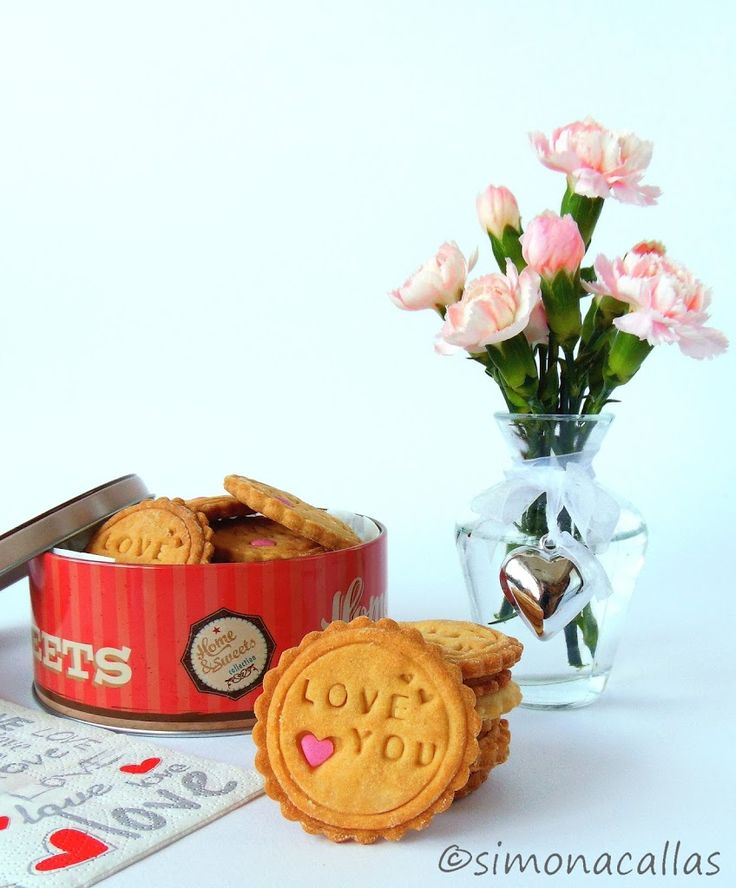 Peanut Butter Stamped Cookies by simonacallas