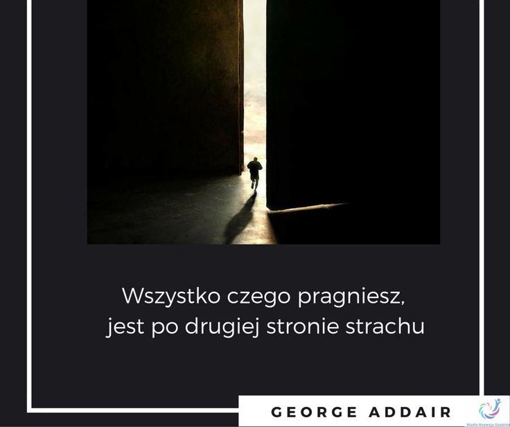 addair, cytat, fear, strach, odwaga
