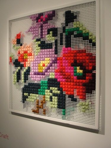 oversized cross stitch