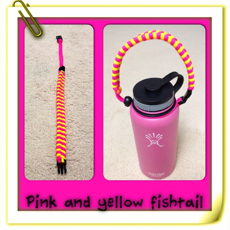 Fishtail handles hydro flask handle crafts projects hydro flasks