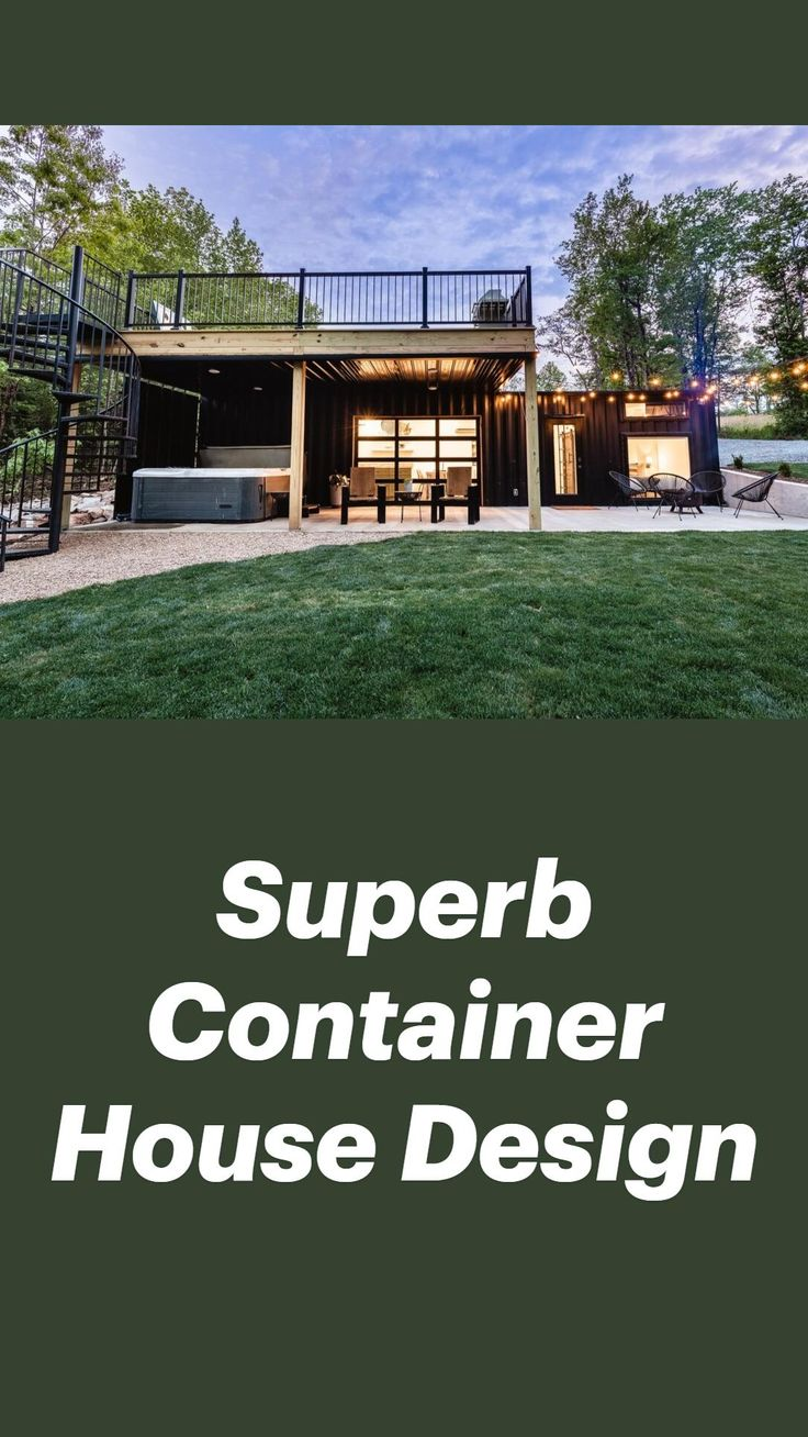 Building A Container Home, Storage Container Homes, Container Buildings, Container House Design, Cargo Container Homes, Green Architecture, Architecture Design, Shipping Container Home Designs, Shipping Containers