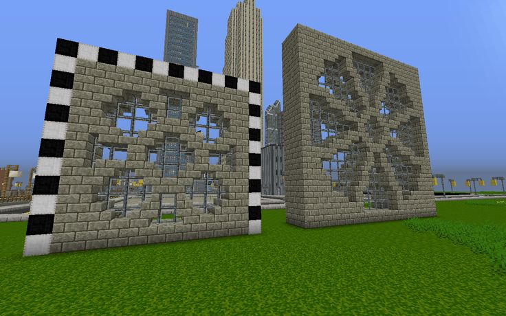 stained glass windows in minecraft - Google Search