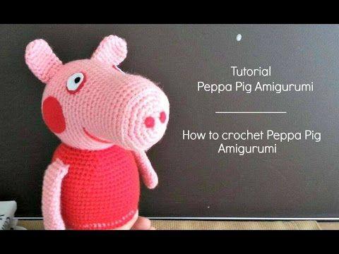 """Ciao a tutti!! In questo tutorial vi faccio vedere come poter realizzare la bellissima Peppa Pig!! Vi invito a mettere """"mi piace"""" al video se vi piace, di co..."""