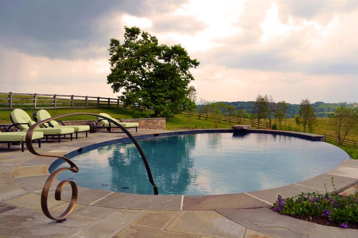 37 Best Metal Pool Handrails Images On Pinterest Metal